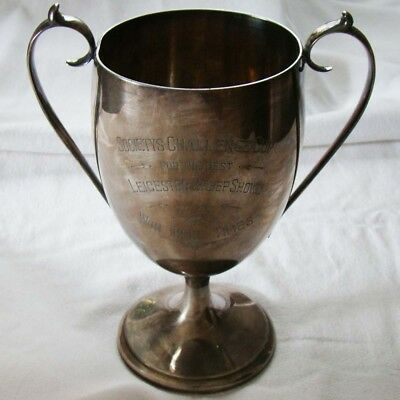 Leicester sheep show - Pokal - won three times - 1927 - Walker & Hall  Art. 8058
