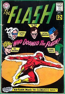 FLASH (1959) #130 VG- (3.5) 1st app Gauntlet of Super-Villains