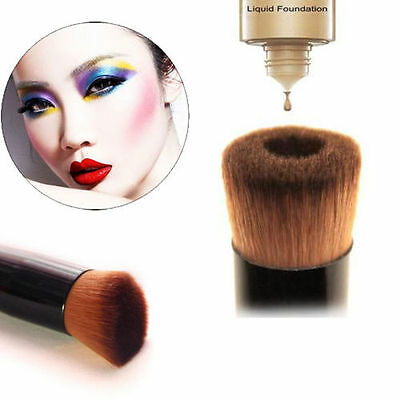 Pro Liquid Soft Blush Face Powder Brush Makeup Cosmetic Foundation Tool