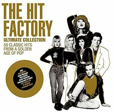 THE HIT FACTORY : ULTIMATE COLLECTION (Various Artists) 3 CD SET (2017)