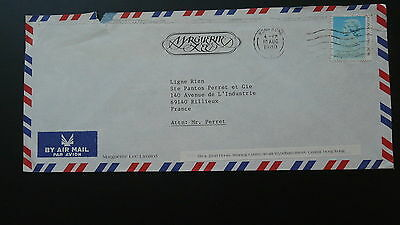 commercial cover air mail letter Hong Kong 51054