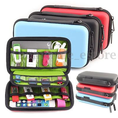 Waterproof Hard Carrying Case Bag Protection For Phone Earphone Cables USB Flash