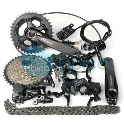 New 2018 Shimano Deore M6000 MTB Groupset Group Hydraulic Brake 2/3x10s 11-42t