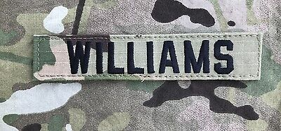 US ARMY Multicam OCP Scorpion Uniform Name Tape Klett patch camouflage WILLIAMS