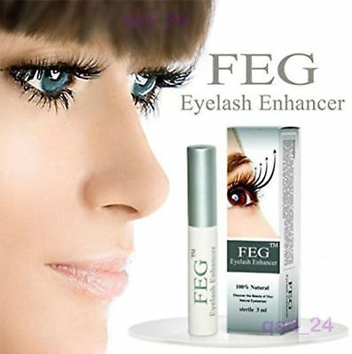 FEG Eyelash Enhancer Eye Lash Rapid Repair Oil Growth Serum Liquid Natural 3ml