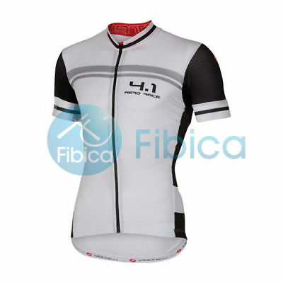 New Castelli Cycling FREE AR 4.1 Jersey FZ Men's White S-XL