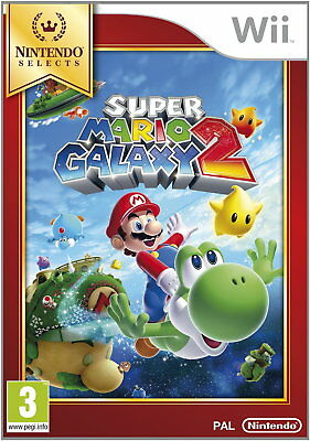 Super Mario Galaxy 2 - Select (Wii) [New Game]