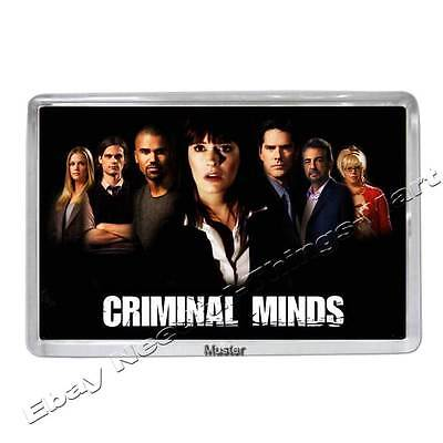 Criminal Minds mit Thomas Gibson und Andere - Fotomagnet 5mm Acryl [M1]