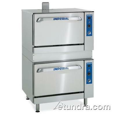 "Imperial - IR-36-DS-C - 36"" Double Deck Combination Oven"
