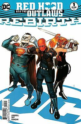 Red Hood and the Outlaws Rebirth #1 Variant (2016 DC Comics) NM 9.4
