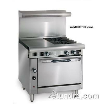Imperial - IHR-2HT-2-C Diamond 2 Heat Hot Tops w/ 2 Burners, Convection Oven