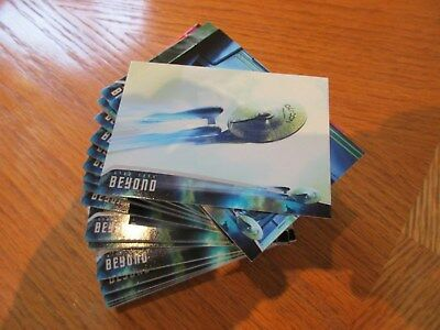 2017 Star Trek Beyond Movie Trading Cards Complete 85 Card Base Set w/ Promo P1