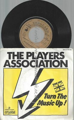 """7"""" The Players Association Turn The Music Up"""