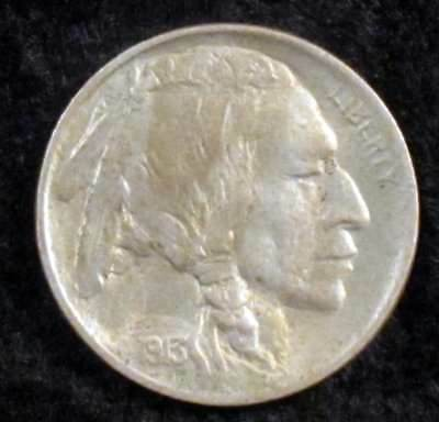 1913 Type 1 About Uncirculated (AU) Buffalo Nickel - bf102