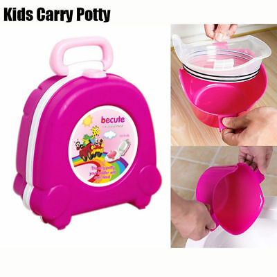 Baby Potty Children Travel Portable Kids Toilet Outdoor Squat Car Potty Trainers