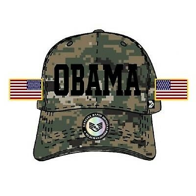 US MARINE Woodland MARPAT Commander in Chief Presidential Cap Obama Army Mütze