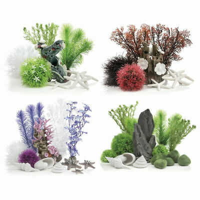 BiOrb Easy Decor Set 15L / 30L Aquarium Fish Tank Ornaments Plants Decorations