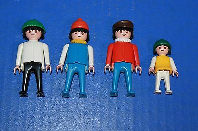 Playmobil Replacement Parts Figures In Ski Hats