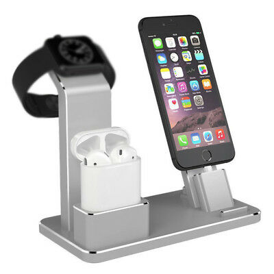 3 in 1 Charging Dock Stand Holder Charger Station for Apple Watch iPhone Airpods
