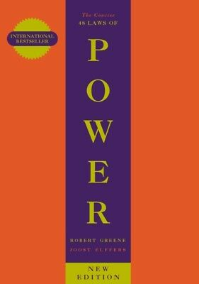 The Concise 48 Laws Of Power by Robert Greene, Joost Elffers New Book IN STOCK