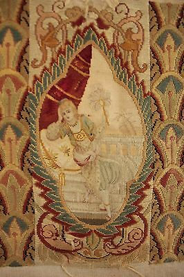 Needlepoint Antique French Tapestry Needlepoint 19th century