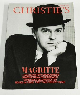 Christie's Magazine July 2012 Rene Magritte, Hallucinatory Ordinary, Andrew Wyld