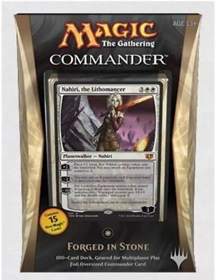 MTG - Commander 2014 - FORGED IN STONE Deck 100 Card NEW