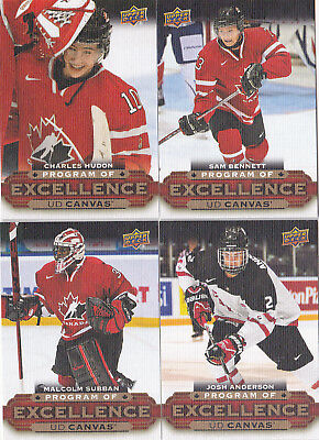 15-16 Upper Deck Malcolm Subban UD Canvas Program Of Excellence POE Rookie 2015