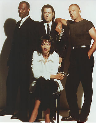 Pulp Fiction 8 X 10 Photo With Ultra Pro Toploader