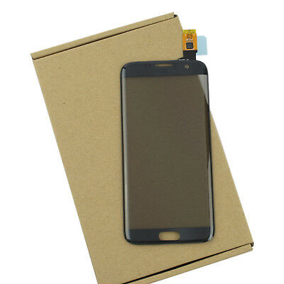 New BLACK Touch Screen Digitizer Glass Lens For Samsung GALAXY S7 Edge G935 USA