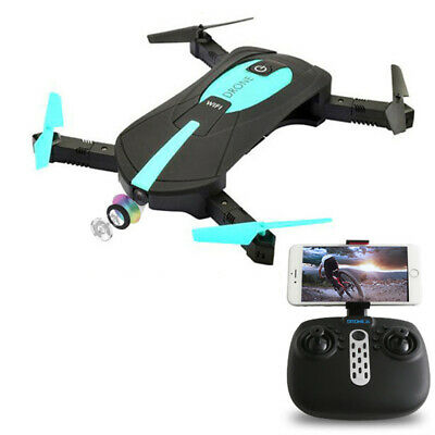 JY WiFi FPV Selfie Foldable RC Drone Quadcopter With Remote Controller