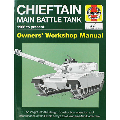 Haynes Chieftan Tank Manual - Owners Workshop Manual, Non Fiction Books, New