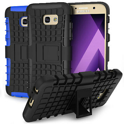 Samsung Galaxy A5 2017 Case Tough Armour Kick Stand Shockproof Dual Hard Cover