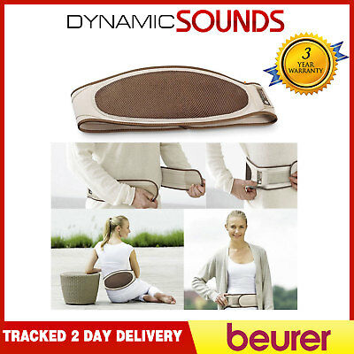 Beurer Battery Operated Rechargeable Electric Wireless Heat Belt Pad HK72 NEW
