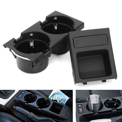 Front Center Console Drink Cup Holder Storing Coin BOX For BMW E46 3Series 99-06