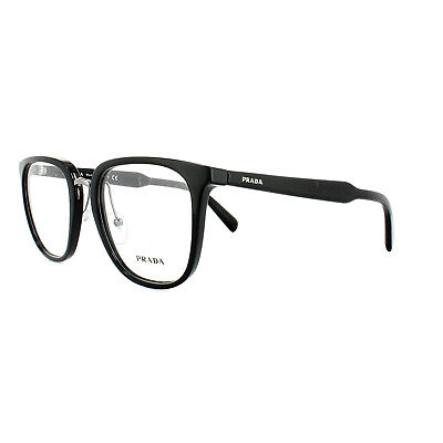 ea6209ebba PRADA GLASSES FRAMES PR 10TV 1AB1O1 Black Mens 51mm -  158.00