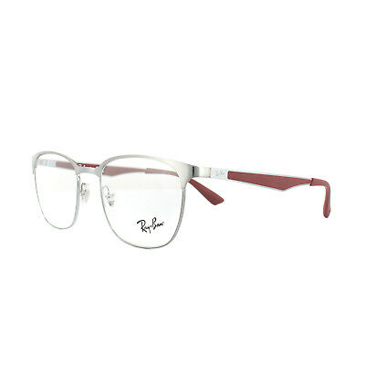 a68effe49e Ray-Ban Glasses Frames RX 6356 2880 Brushed Gunmetal Mens Womens 50mm