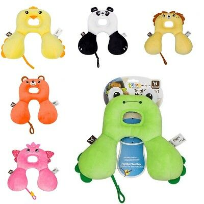 Cute Toddler Baby U-shaped Neck Headrest Travel Car Seat Pillow Child Stroller
