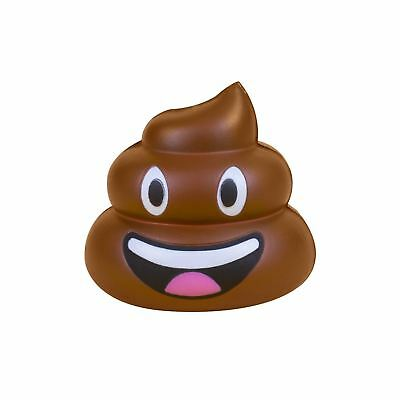 Emoji Poo Stress Ball Anti Stressball Relief Novelty Hand Squeeze Toy