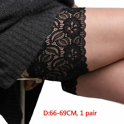 Women Socks Anti-Chafing Thigh Chafing Sock Thigh Bands Elastic Lace