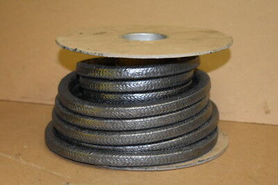 "Packing seal, High temp, 1/2"", Graphite filament, 1555 Palmetto, 25 feet"