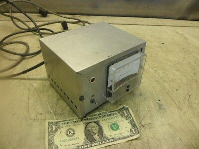 API MICRON METER MODEL 302 with UNKNOWN HEAD CABLE in ALUMINUM CASE 115 VAC