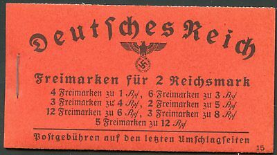 Germany Complete Booklet Michel #Mh39--Michel Value 240 Euros
