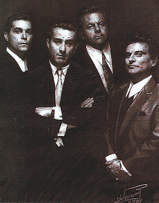 Goodfellas 8 X 10 Photo Art With Ultra Pro Toploader