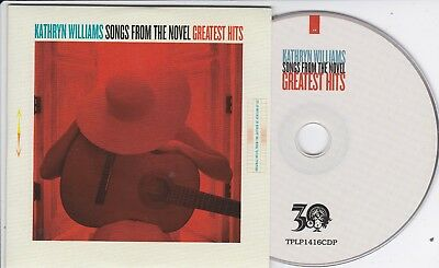 Kathryn Williams Songs From The Novel Greatest Hits Rare 16 Track Promo Cd