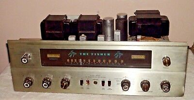 Vintage Fisher 500C FM Stereo Receiver For Parts or Repair  Needs Tubes