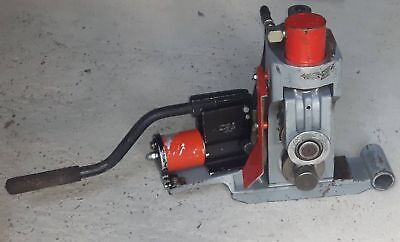 Ridgid 918 pipe roll groover & change over set 8-12 & 2-6 inch