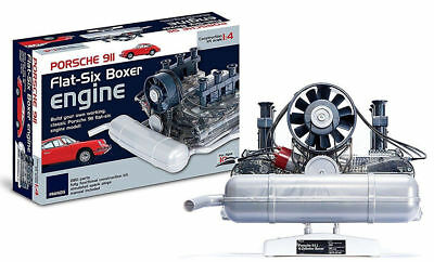 NEW Haynes Build Your Own Porsche 911 Boxer Flat 6 Cylinder Engine working model