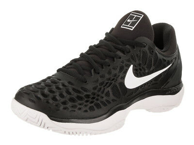 Nike Men's Air Zoom Cage 3 Hc Black/White Anthracite Tennis Shoe 9 Men Us