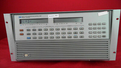 HP - Agilent - Keysight 3852A Data Acquisition/Control Unit